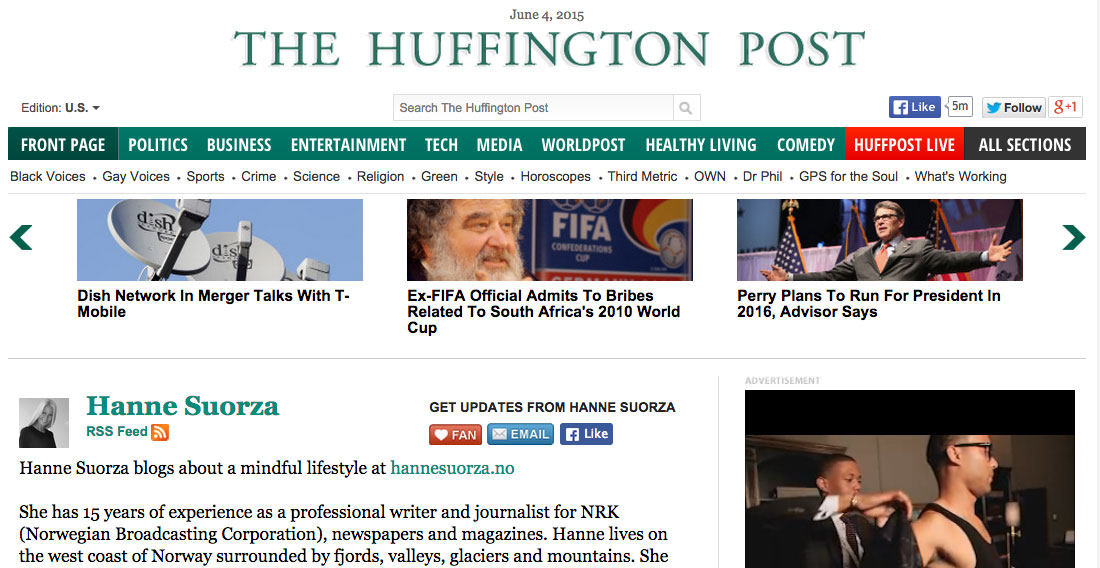 write for the huffington post